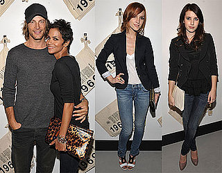 Photos of Ashlee Simpson, Halle Berry, Joel Madden, Gabriel Aubry, Emma Roberts at the Launch of Gap's 1969 Premium Denim Line