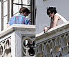 Slide Photo of Robert Pattinson and Kristen Stewart at the Chateau Marmont