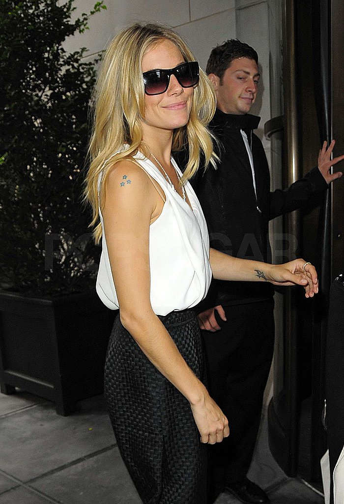 Photos of Sienna Miller and Channing Tatum in NYC