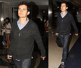 Photos of Orlando Bloom at LAX