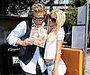 Photo Slide of Spencer Pratt and Heidi Montag With Her Playboy Issue in LA