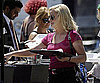 Photo Slide of Amy Poehler Getting a Snack on the LA Set of Parks and Recreation