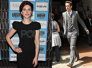 Photos of Scarlett Johansson in LA, Ryan Reynolds in NYC