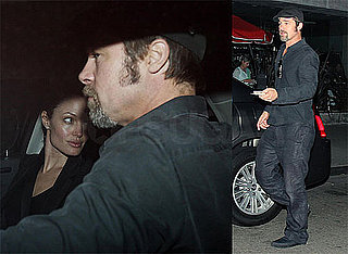 Photos of Angelina Jolie, Brad Pitt at Dinner Date in LA
