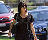 Slide Photo of Selma Blair Wearing Black in LA Running Errands