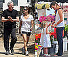 Photos of Jennifer Garner and Violet Affleck at Farmer's Market, Victor Garber Falling in LA