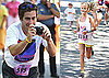 Photos of Jake and Ava Running