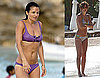 Photos of Helena Christensen in a Bikini on St. Bart's Vacation