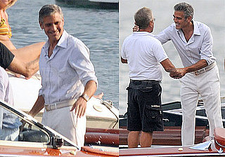 Photos of George Clooney in Lake Como, Suing Paparazzi For Climbing His Wall and Photographing Teenager in Guest Room