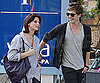 Slide Photo of Ashley Greene, Xavier Samuel in Vancouver Walking Around