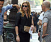 Photo Slide of Julia Roberts on The Set of Eat Pray Love in NYC