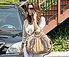 Photo Slide of Eva Longoria Leaving LA's Cafe Med