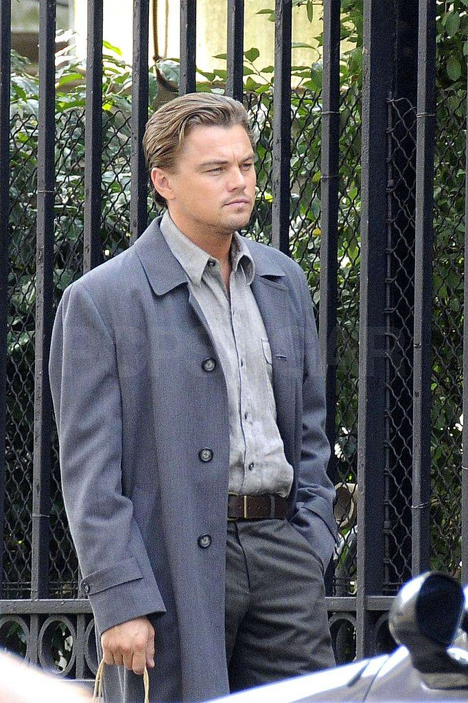 Photos of Leonardo DiCaprio in France