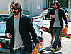 Photos of Keanu Reeves Who Was Linked to Cameron Diaz After Lunch at Whisper Lounge