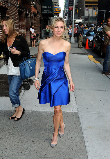 Photos of Renee Zellweger at The Late Show