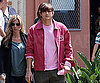 Slide Photo of Ashton Kutcher Filming Valentine's Day Movie