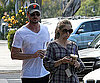 Photo Slide of Eric Dane And Rebecca Gayheart in LA