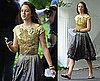 Photos of Leighton Meester On Set of Gossip Girl