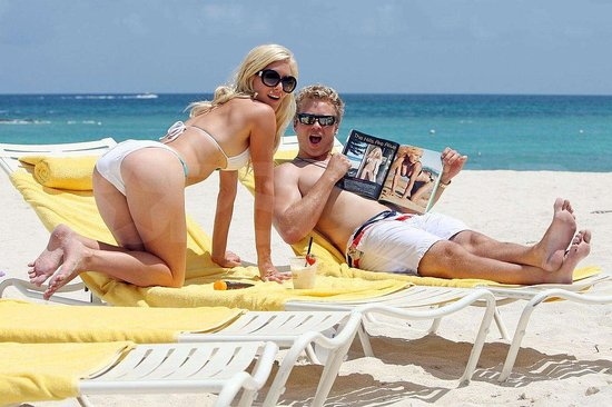 Photos of Heidi and Spencer in Bahamas