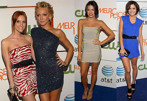 Photos of Ashlee Simpson, Jenna Dewan, Katie Cassidy, Jessica Stroup, Laura Leighton, Daphne Zuniga at Melrose Place Premiere