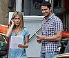 Photo Slide of Jennifer Aniston And Gerard Butler Filming The Bounty in NYC