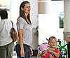 Photo Slide of Jennifer Garner and Violet Affleck Shopping in LA