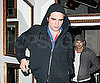 Slide Photo of Robert Pattinson Out to Dinner With Eclipse Cast