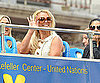 Photo Slide of Britney Spears on a Tour Bus in NYC