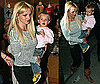 Photos of Britney Spears and The Boys going to See Shrek in NYC