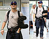 Photos of Leonardo DiCaprio at Nice Airport