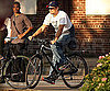 Photo Slide of Leonardo DiCaprio Biking in NYC