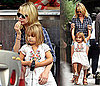 Photos of Michelle Williams and Matilda Ledger After Getting Coffees in Brooklyn