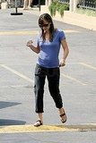 Photos of Jennifer Garner in LA and On Set