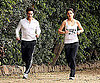 Slide Photo of Tom Cruise and Katie Holmes Jogging Together