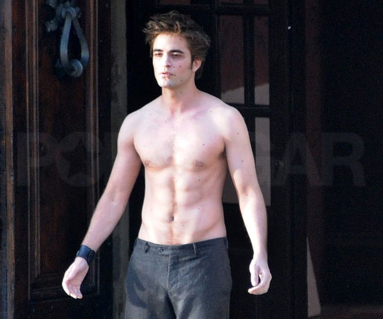 Shirtless Bracket Winner: Robert Pattinson