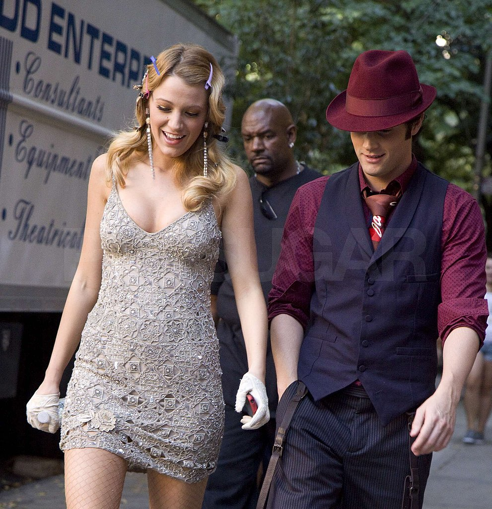 Photos of the Gossip Girl Cast on Set