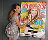 Photo Slide of Whitney Port Signing Her Seventeen Magazine Cover