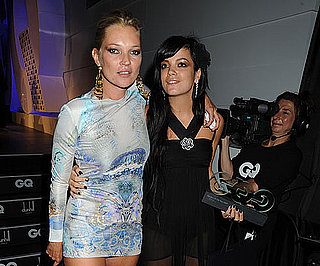 Slide Photo of Kate Moss and Lily Allen at GQ Awards