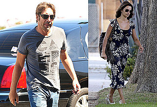 Photos of Possibly Pregnant Penelope Cruz in LA; Javier Bardem at LAX