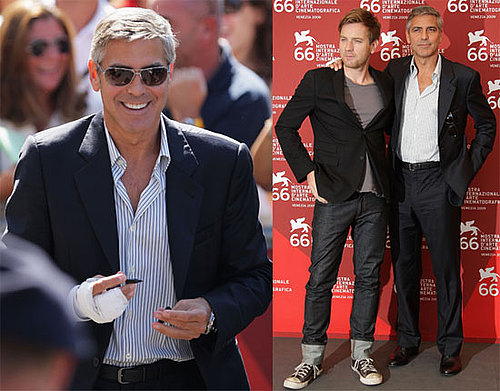 Photos of Ewan McGregor and George Clooney Promoting The Men Who Stare at Goats at the 2009 Venice Film Festival 2009-09-08 10:00:13