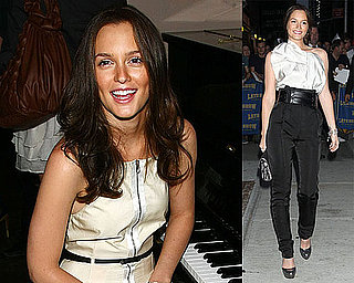 Photos of Leighton Meester in NYC 2009-09-09 15:30:00