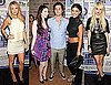 Photos of Blake Lively, Taylor Momsen, Penn Badgley, Michlle Trachtenberg at Launch of Anna Sui's Gossip Girl Collection