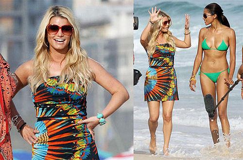 Photos of Jessica Simpson, Ken Paves Filming The Price of Beauty, Ashlee Simpson Doesn't Envy Jess Single Girl Status