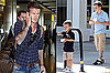 Photos of The Beckhams in London and LA