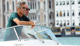 Photos of George Clooney in Venice