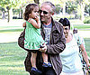 Slide Photo of Francois-Henri Pinault, Valentina Pinault at Beverly Hills Park