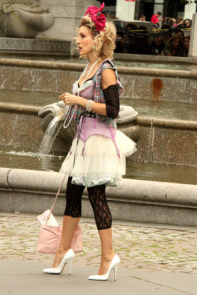 Photos from set of SATC 2