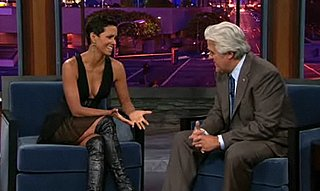 Halle Berry Denies Pregnancy Rumors on Jay Leno Show