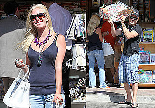 Photos of Heidi Montag and Spencer Pratt at Magazine Stand