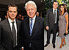 Photos of Matt Damon, Bill Clinton, Mary J Blige, Luciana Damon, And Elvis Costello at a ONEXONE Dinner in Toronto